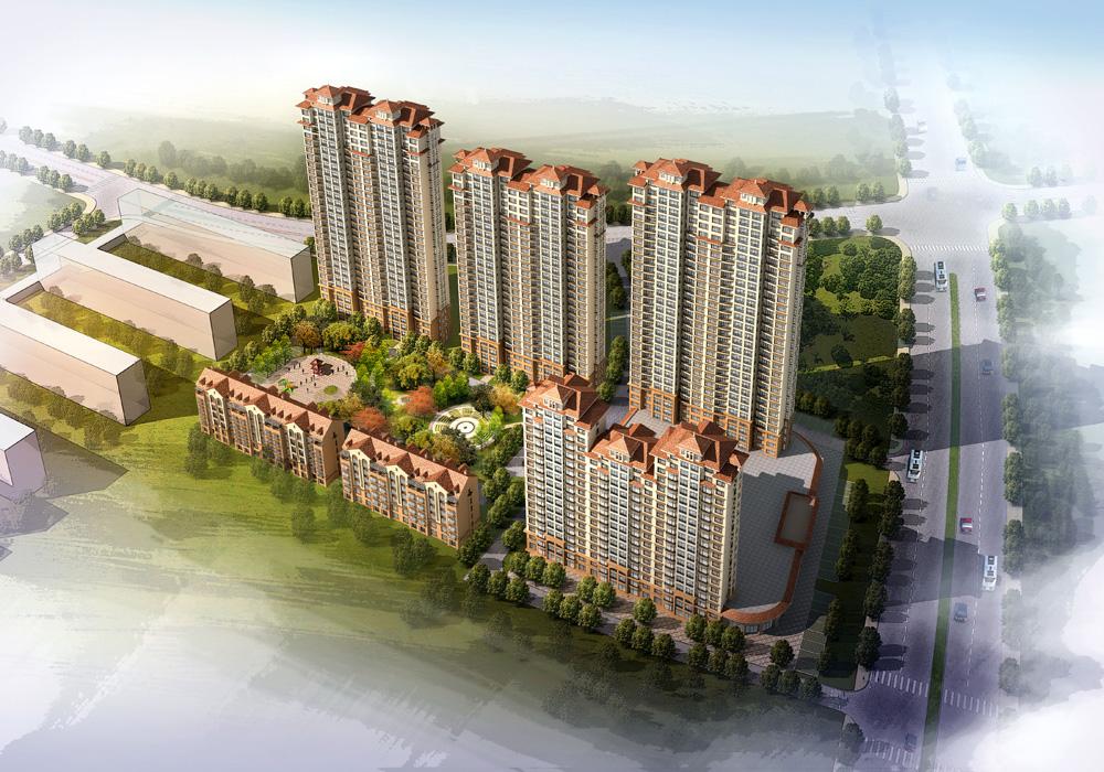 2010年 · 大慶市中心觀景高層東城明珠項目